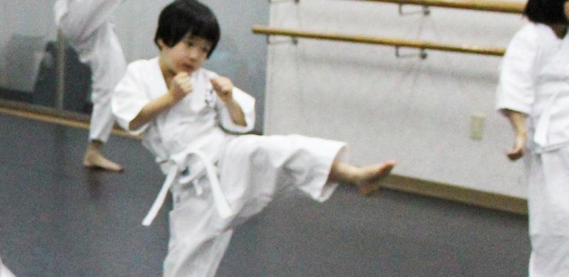 渋谷空手スクールの未就学児